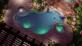 GreenExterior Design 3D Aerial View