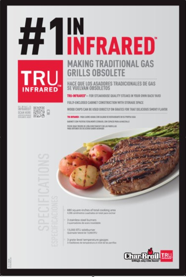 Launch of Char-Broil's Infrared Message