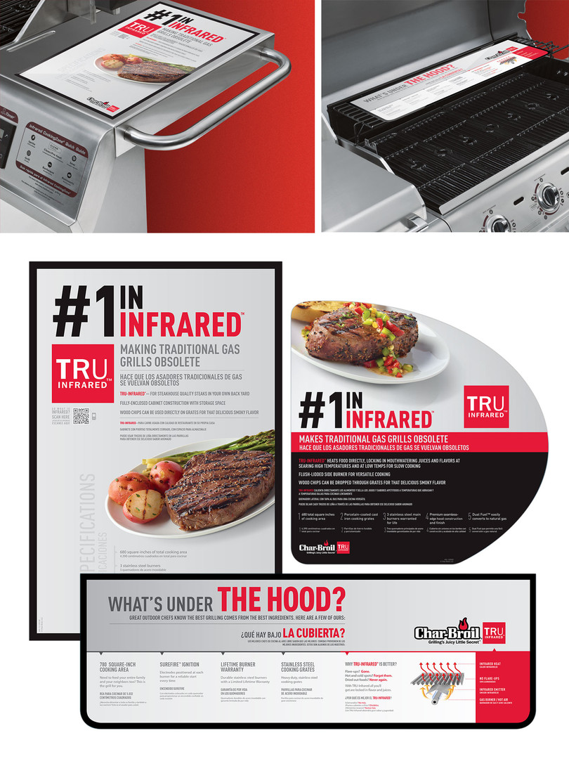 Char-Broil's Infrared Message on Products