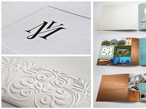 Magnolia Villas Logo & Brochure