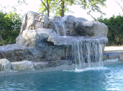 Grotto Water Feature w/ Two Tiers