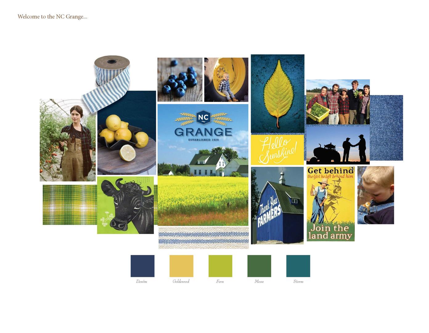 Grange Color Palette Recommendation