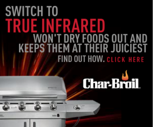 Char-Broil's Infrared Message in Digital Ads