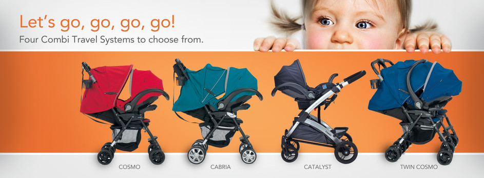 Combi Travel System Web Banner