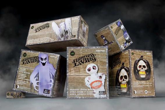 Lowe's Halloween Packaging Re-Design