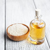 bigstock-Sesame-Seeds-And-Bottle-With-O-