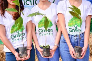 โครงการปลูกป่าสีเขียว ที่จังหวัดสระบุรี