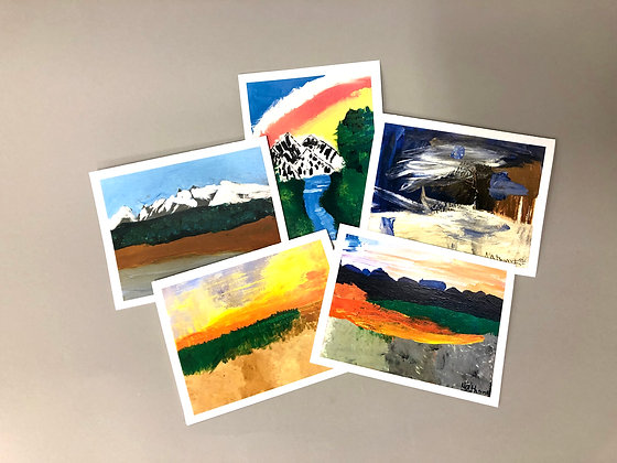 NK Lanscape_1 Notecards
