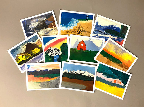 NK Landscape_2 Notecards