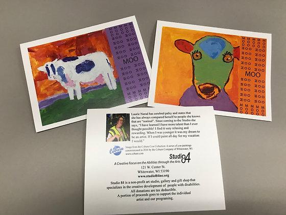 LN Coburn Cows notecards