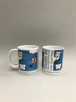 SN Butterfly mug