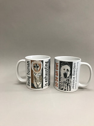 JB Be an Owl mug