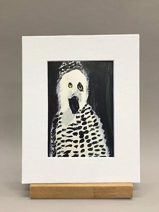 JB Snowy Owl print