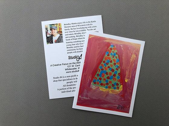 BM Holiday Tree Cards