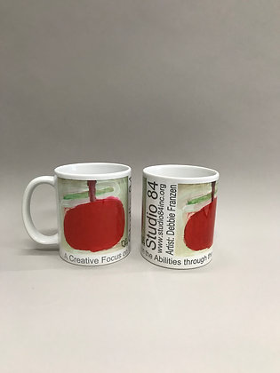 DF Apple mug