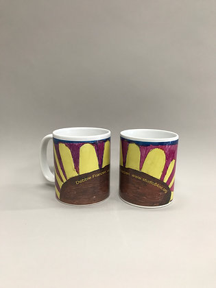 DF Sunflower mug#1