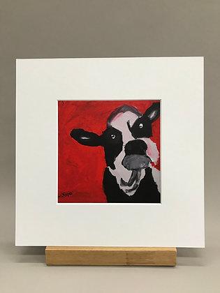 AH Coburn Cow print