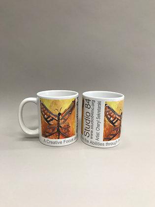 CS Butterfly mug