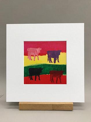 KG Coburn Cow print