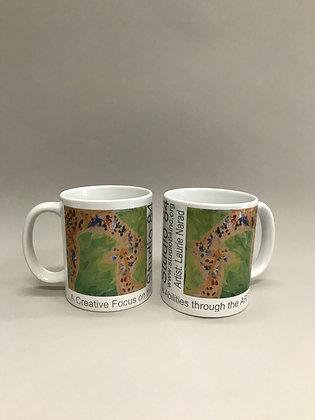LN Giraffe mug