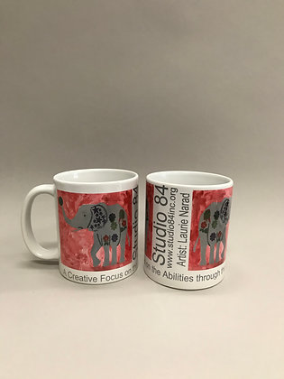 LN Elephant mug