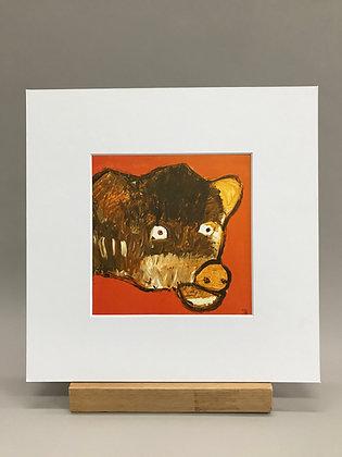 JB Coburn Cow print #1