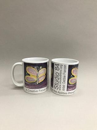 DF Butterfly mug