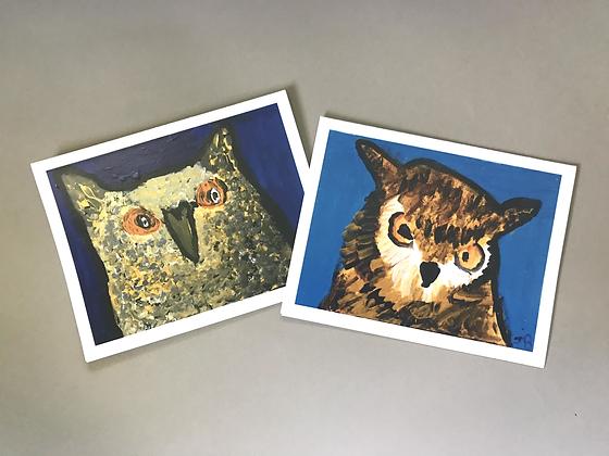JB  2_Owls Notecards