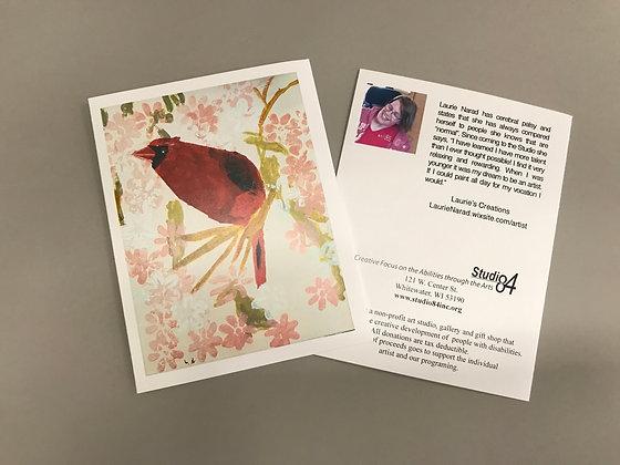 LN Cardinal notecards