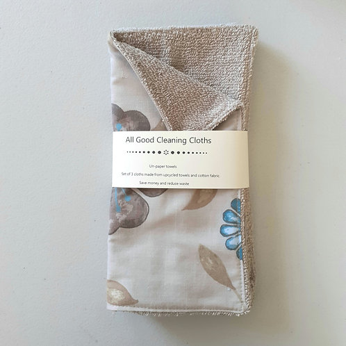 All Good Cleaning Cloths - Unpaper Towels Beige