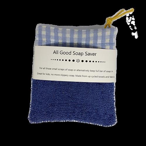 Soap Saver - Denim Blue