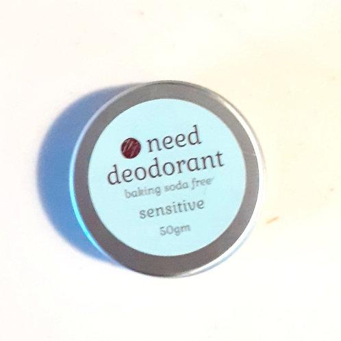 Need Deodorant -Sensitive Baking Soda Free