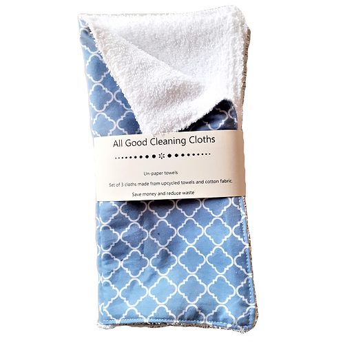 All Good Cleaning Cloths - Unpaper Towels White