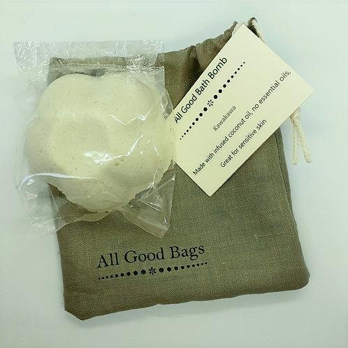 All Good Bath Bomb - Kawakawa