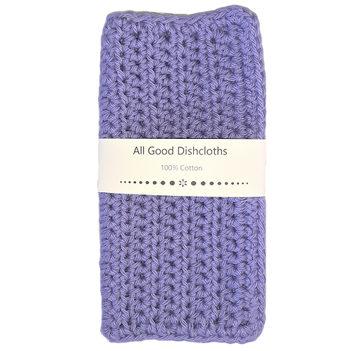 All Good Dishcloth - Hot Purple