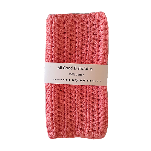 All Good Dishcloth - Tea Rose