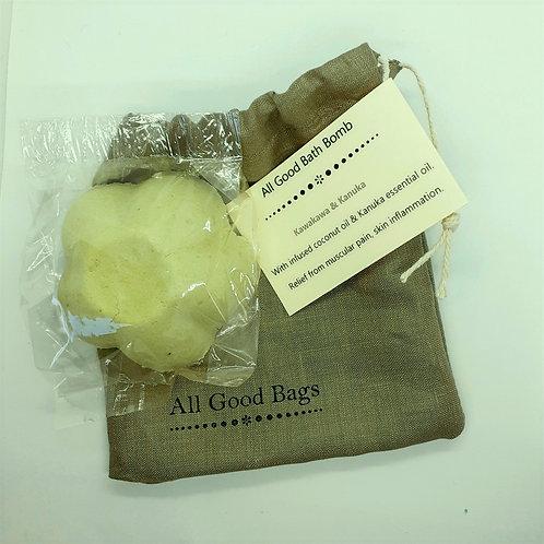 All Good Bath Bomb - Kawakawa & Kanuka