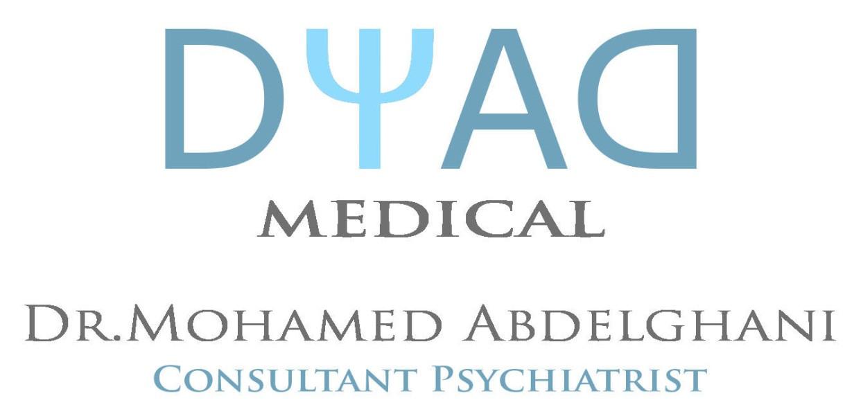 Dr Mohamed Abdelghani Consultant Psychiatrist | Dyad Medical