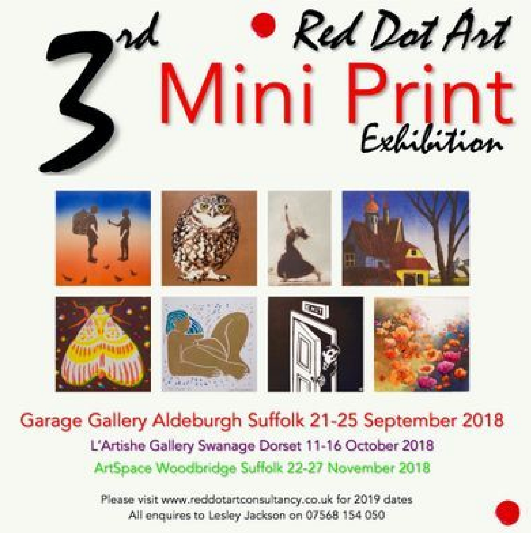 3rd Red Hot Mini Print Exhibition