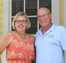 Angelina Guesthouse owners Kevin and Janet Life