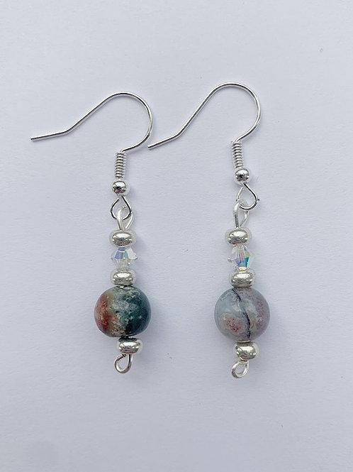 Multi-Color Earth Tone Earrings