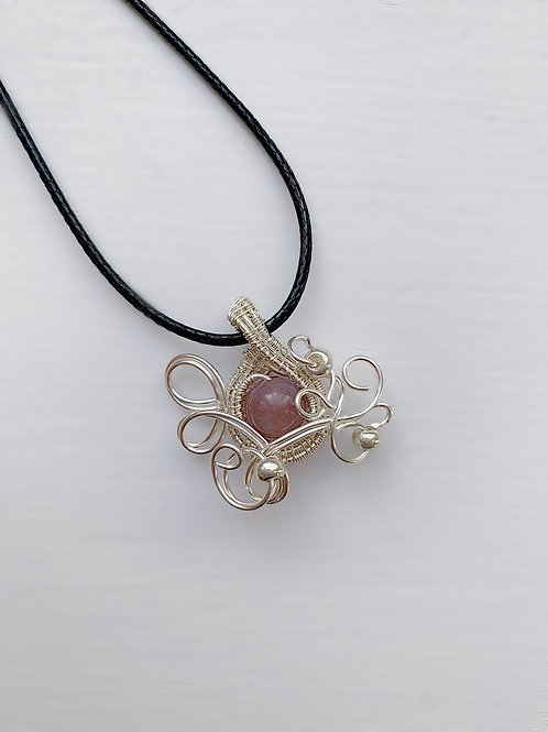 Rose and Silver Charm