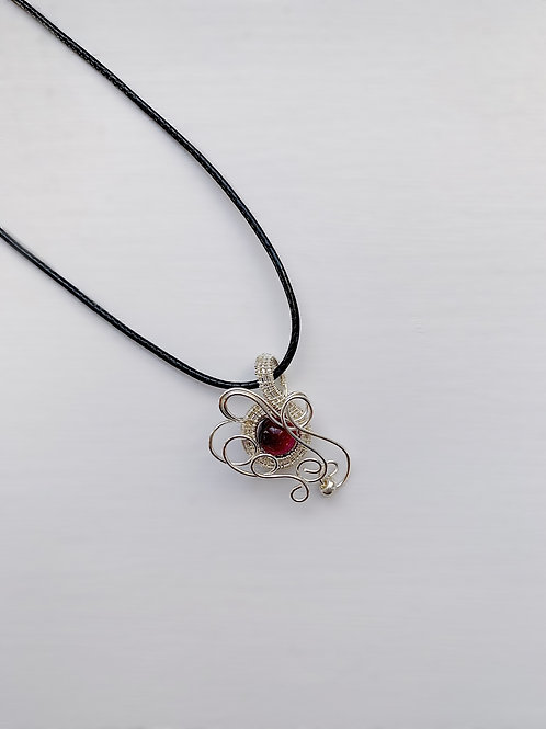 Red and Silver Charm no.3