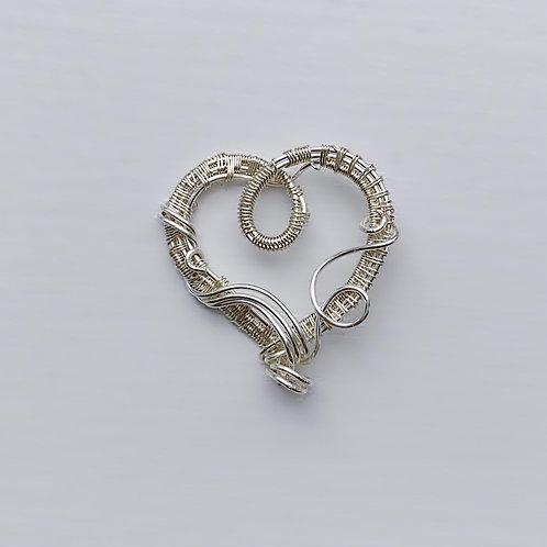 Simple Sweetheart in Silver