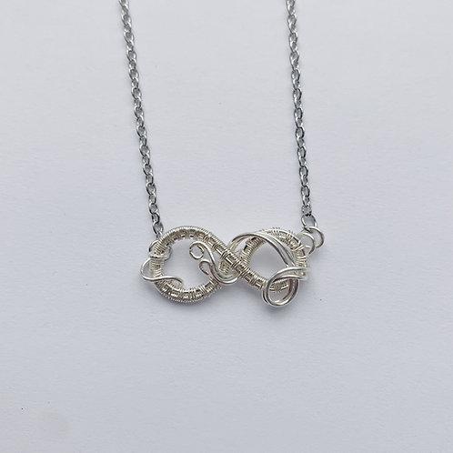 Silver Medium Infinity