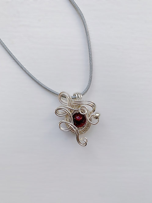 Red and Silver Charm no.2