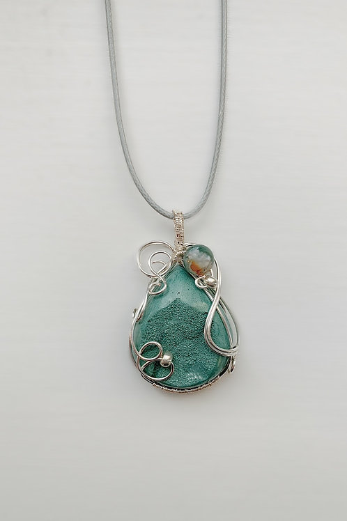Turquoise and Earth Tones Druzy
