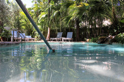 Private pool at Angelina Guesthouse
