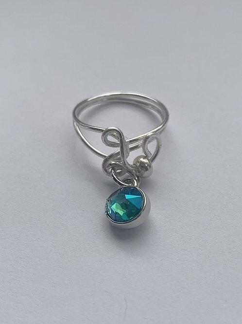 Shimmering Charm Ring