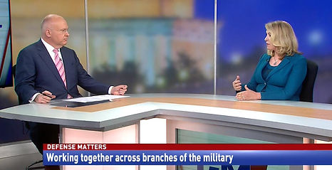 Working together across branches of the military